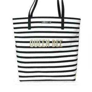 Kate Spade Queen Bee Stripped Tote